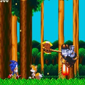 Hei Hou boss battle sonic & Knuckles Sega Genesis Sega Mega drive