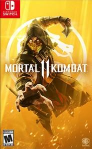 Mortal Kombat 11 Nintendo switch box art North America WB Games scorpion