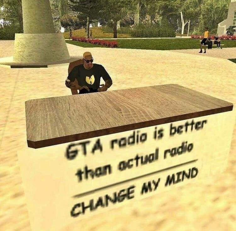 Memes Video games GTA radio