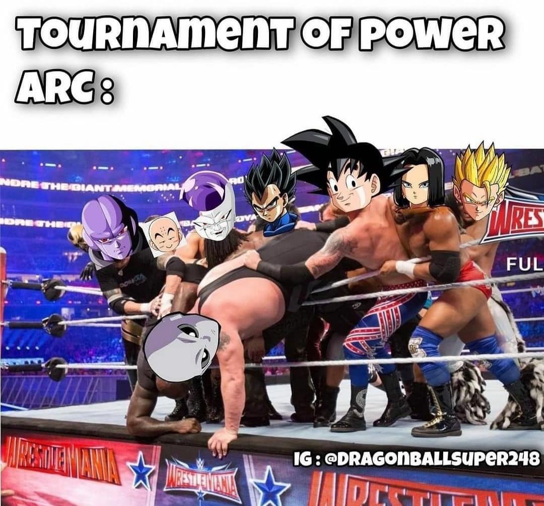 Memes Dragon Ball super tournament of power
