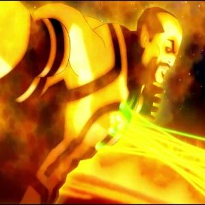 Green Lantern: Emerald Knights Krona emerges from the universal sun dc comics