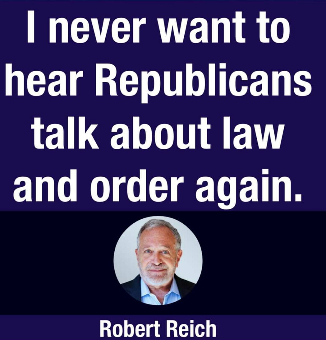 Memes Republicans can never talk about law and order again