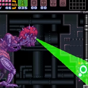 Mother brain defeats Samus super Metroid snes super Nintendo
