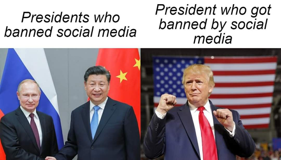 The Memes About Donald Trump getting banned on Twitter