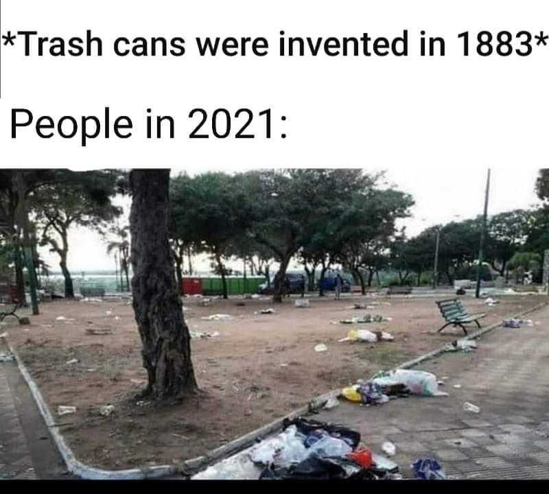 Memes People littering
