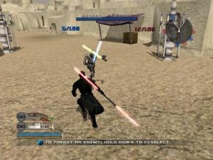 Darth maul vs general grievous Star Wars: Battlefront II Xbox ps2