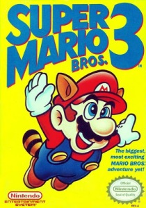 Super Mario Bros 3 nes Nintendo boxart