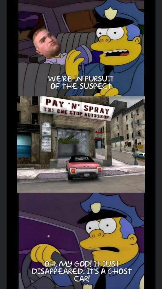 Memes Dumb cops GTA