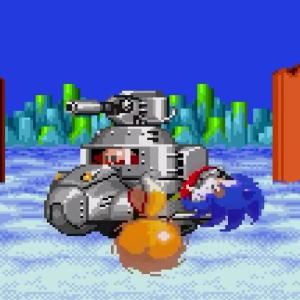 Submarine Eggman Sonic the Hedgehog 2 Sega genesis Sega mega drive