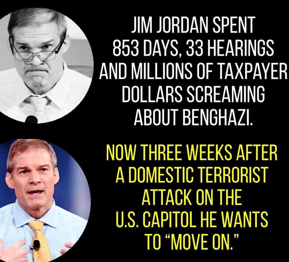 Memes Republican Jim Jordan is a hypocrite