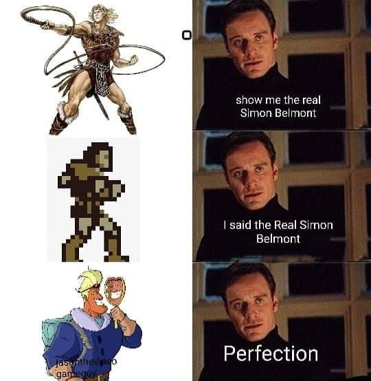 Memes Simon Belmont Castlevania