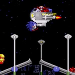 Sonic the Hedgehog 1 Star Light Zone boss Sega genesis Sega mega drive