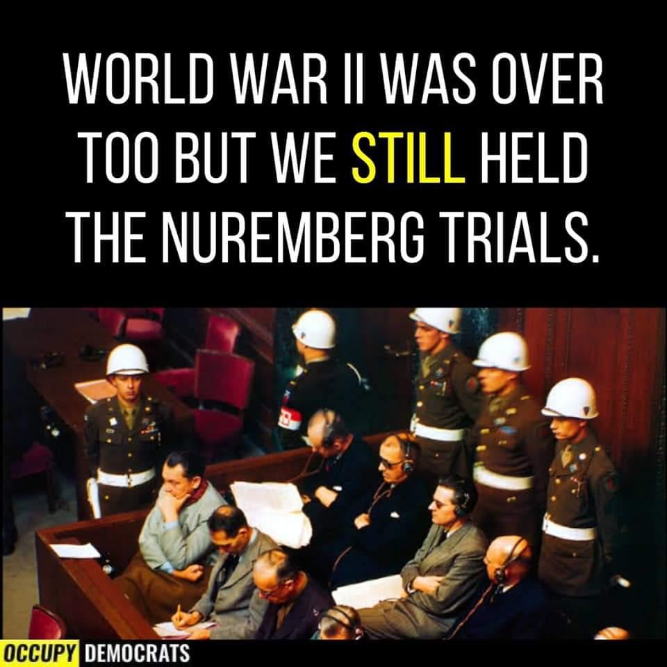 Memes World war two Nuremberg trials