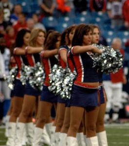Buffalo jills Cheerleaders Buffalo Bills NFL football team