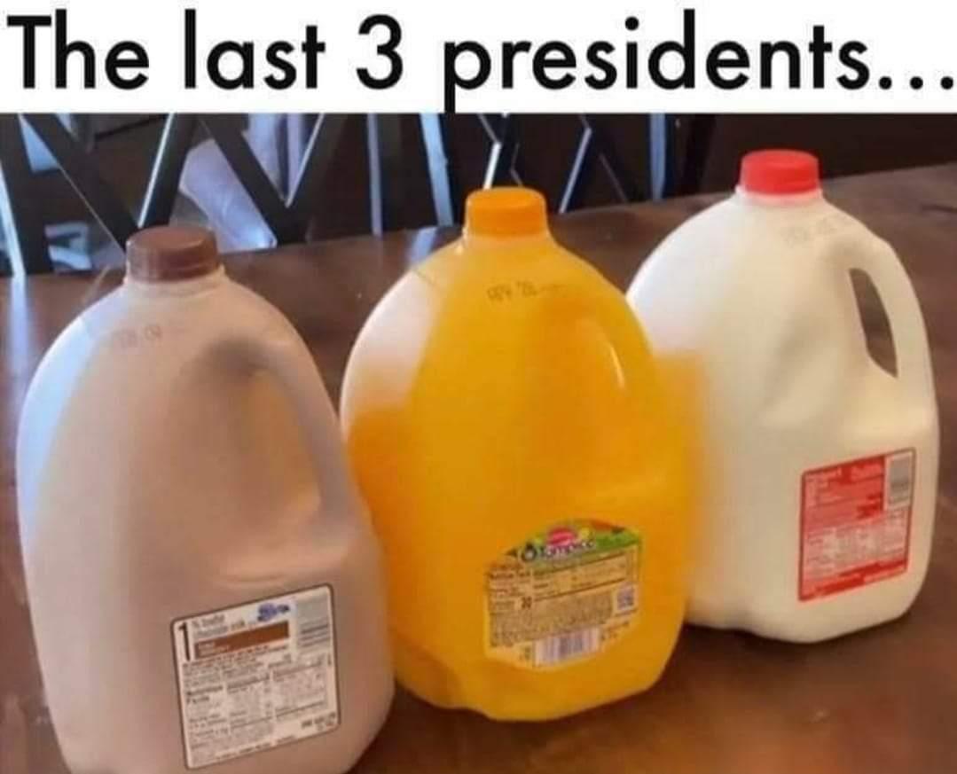 Memes Black president orange president white president