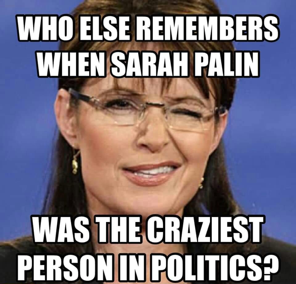 Memes Sarah Palin craziest person in politics