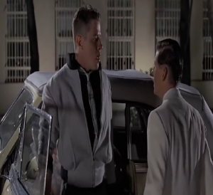 George McFly knocks out Biff Back to the Future