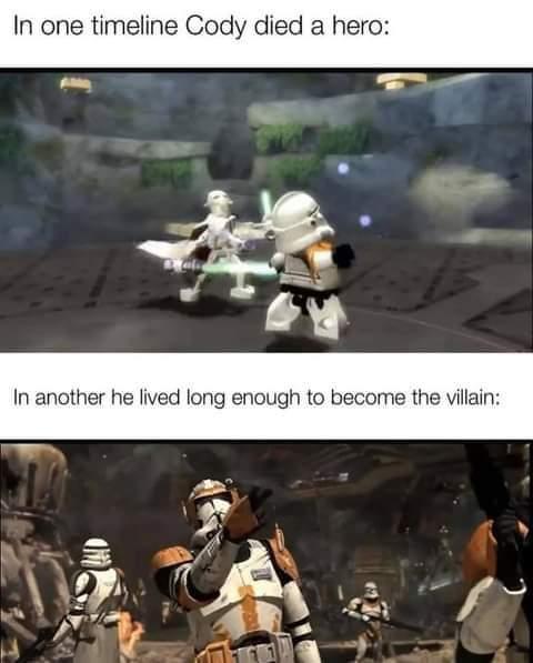 Memes Commander Cody Star Wars