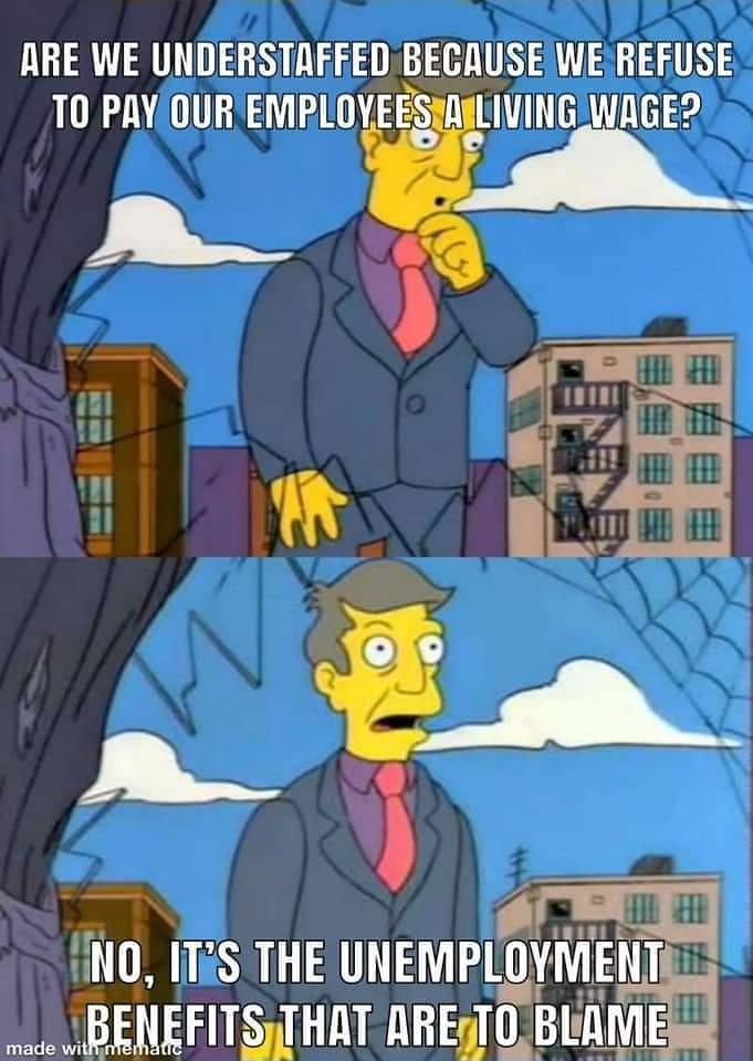 Memes Blaming the unemployed