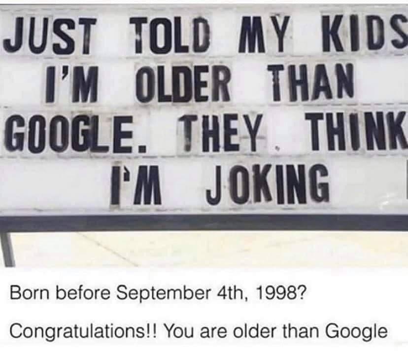 Memes Being older than Google
