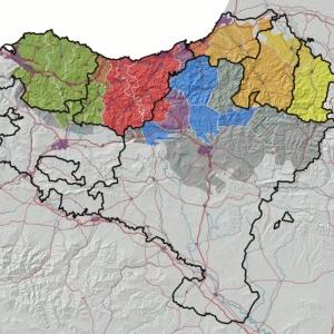 Basque Language regions Europe