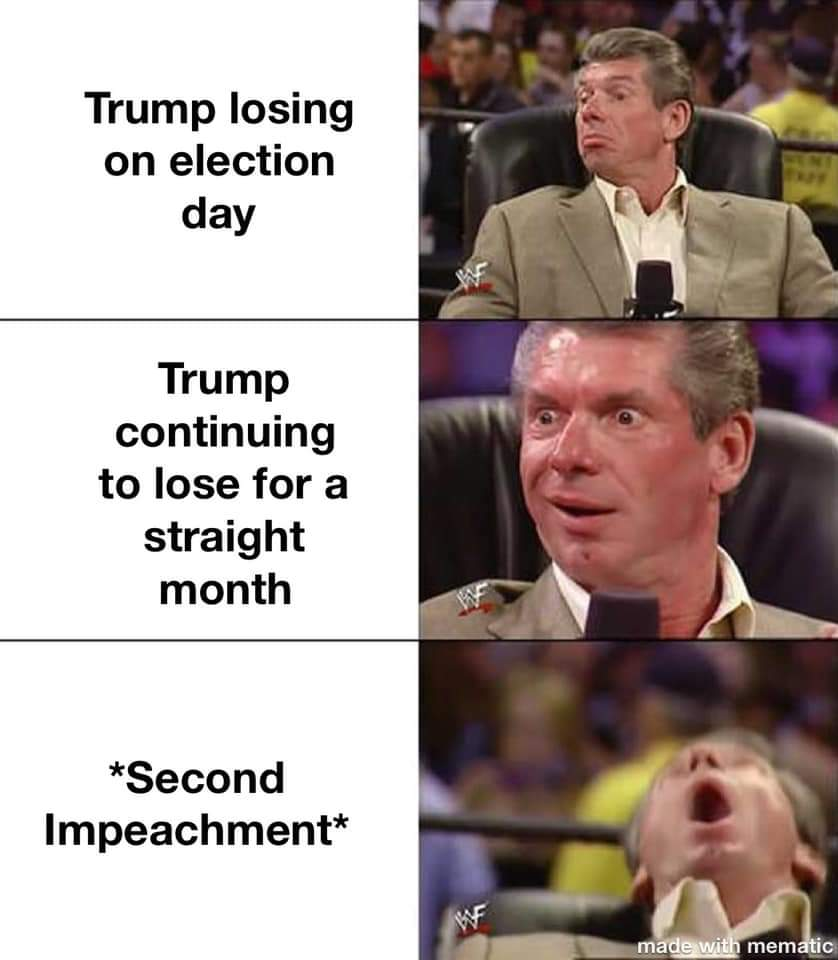 Memes Donald Trump keeping track on losing