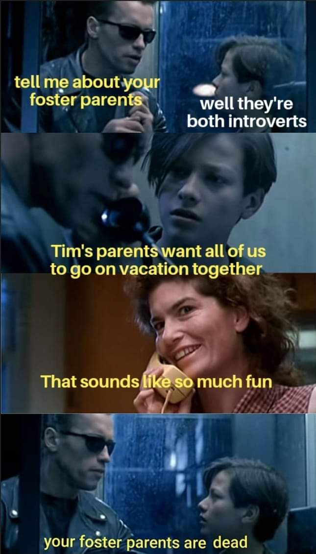 Memes Having introverts for parents