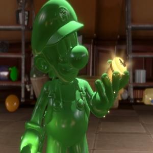 Luigi's Mansion 3 gooigi elevator button Nintendo Switch