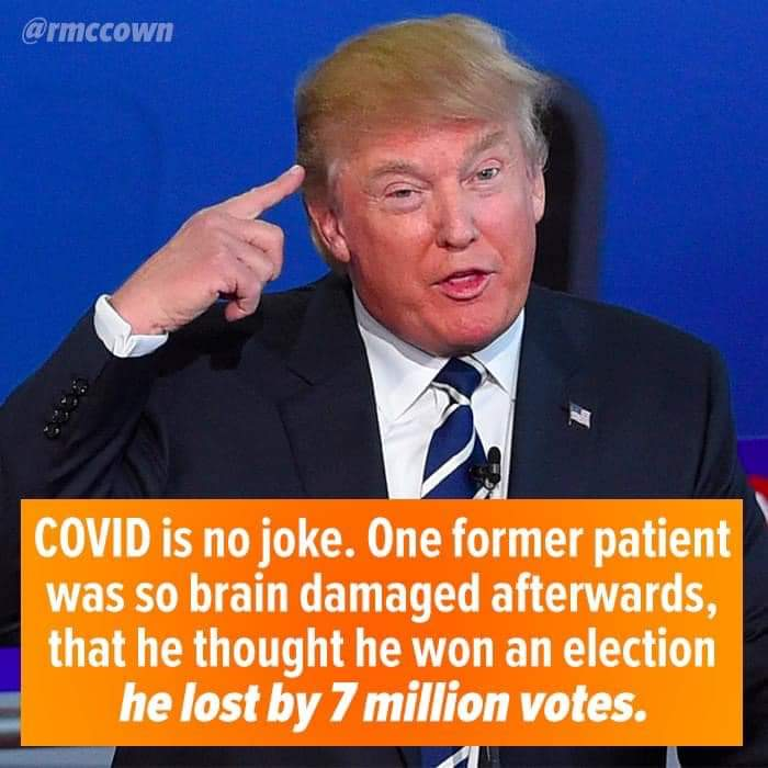 Memes COVID-19 made Donald Trump insane