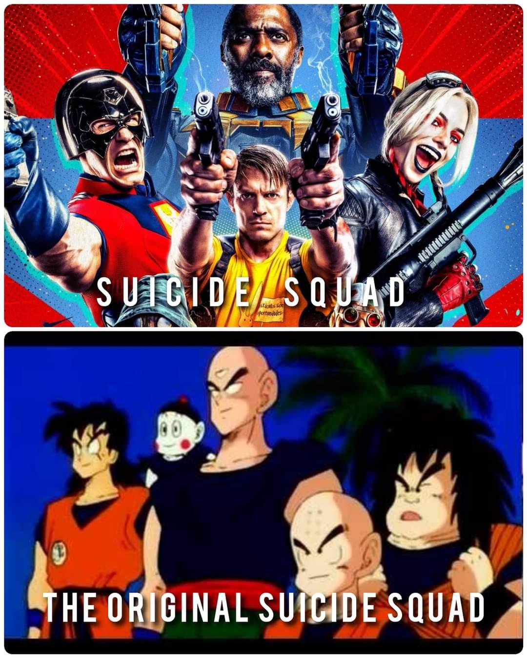 Memes Dragon ball Z suicide squad