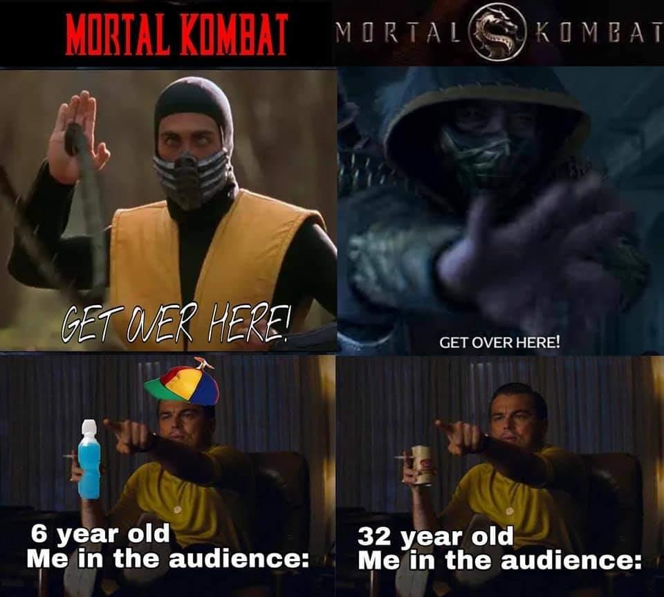 Memes Mortal Kombat movies