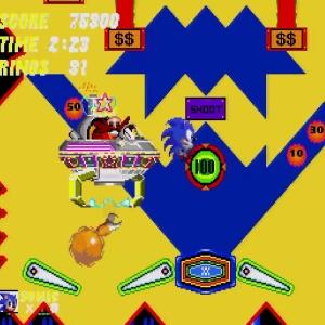 Catcher Eggman Sonic the Hedgehog 2 Sega genesis Sega mega drive Sonic and tails