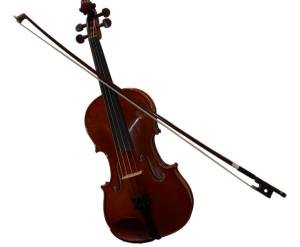 Classic violin bow