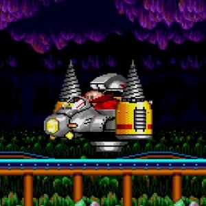 Drill Eggman II Sonic the Hedgehog 2 Sega genesis Sega mega drive