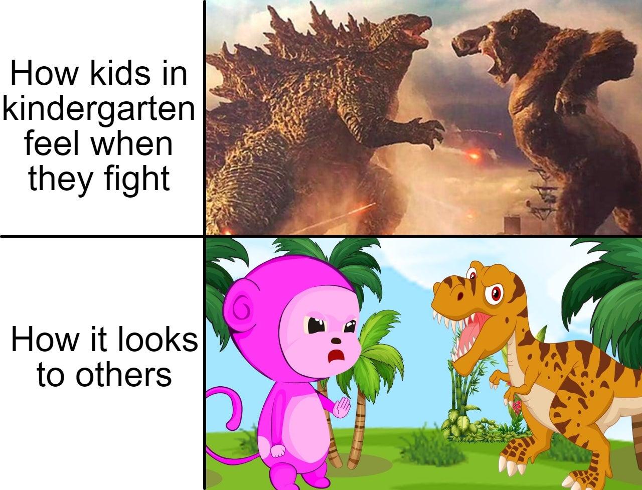 Memes about kindergarten