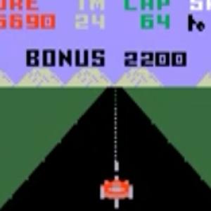 Pole position Mattel intellvision version video game