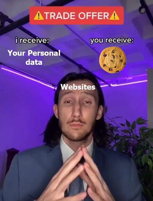 Memes Cookies from websites