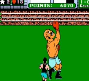 Little Mac vs. Bald bull Punch-Out Nintendo NES uppercut