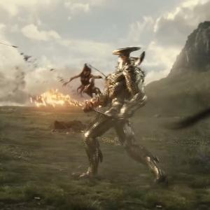 Zack Snyder's Justice League steppenwolf versus Amazonian warriors