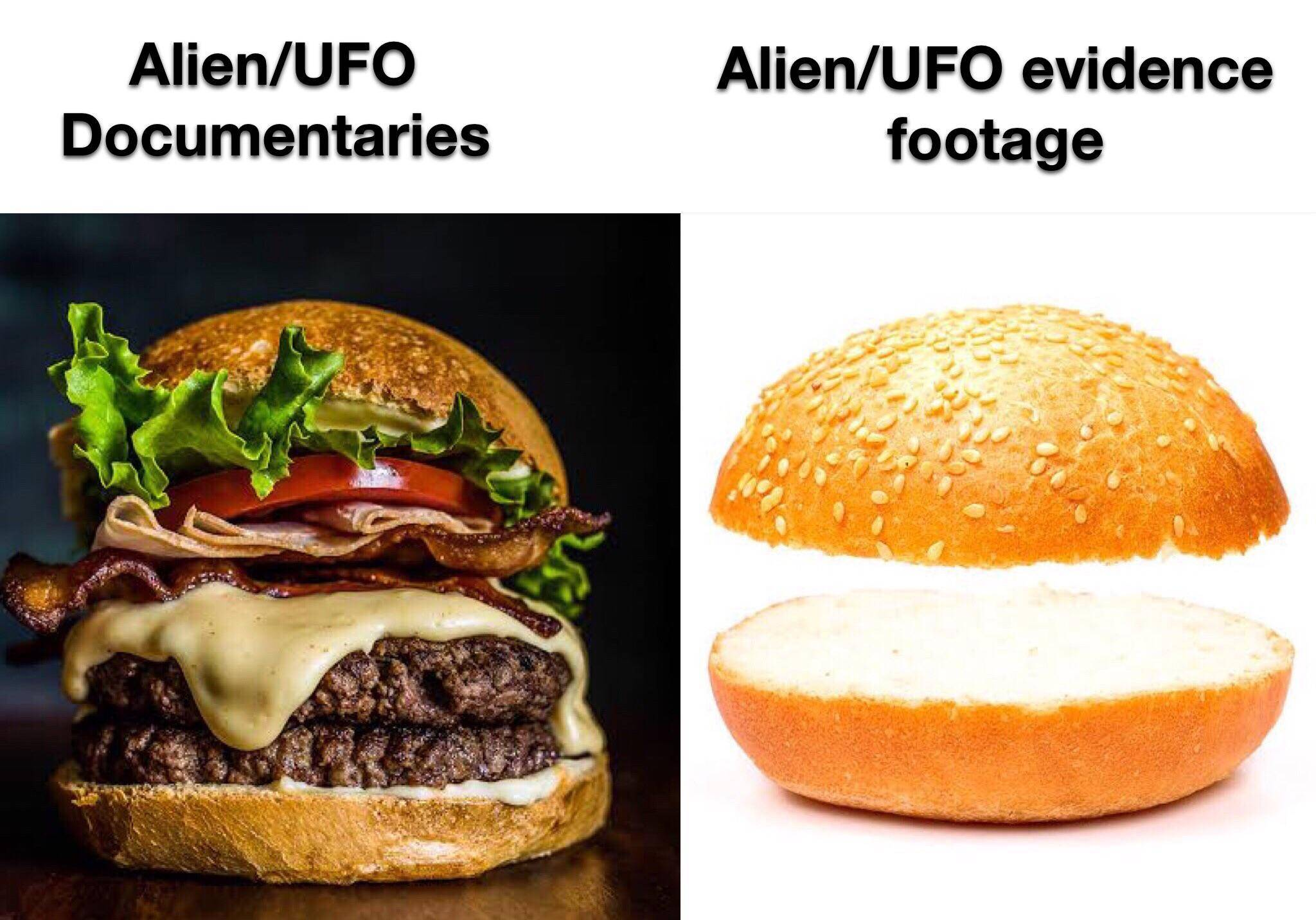 Memes Aliens on the history channel