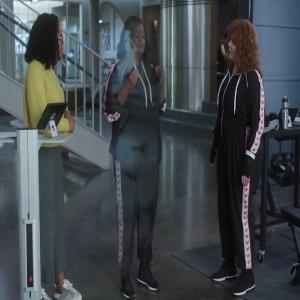 Emily Stanton turns invisible Thunder force Melissa Mccarthy Octavia Spencer