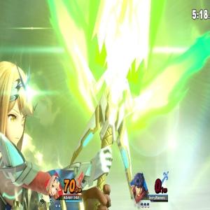 Mythra final Smash super Smash Bros ultimate Nintendo Switch