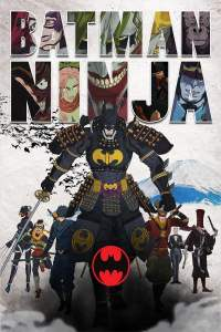 Batman ninja movie poster penguin two face catwoman poison ivy Joker gorilla grodd dc comics