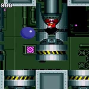 Sonic vs Dr Eggman sonic the Hedgehog 1 Final Zone Sega genesis Sega mega drive