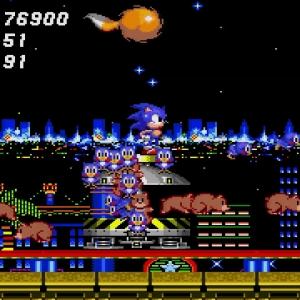 Animals freed flicky birds and baby bears Sonic the Hedgehog 2 Sega genesis Sega mega drive