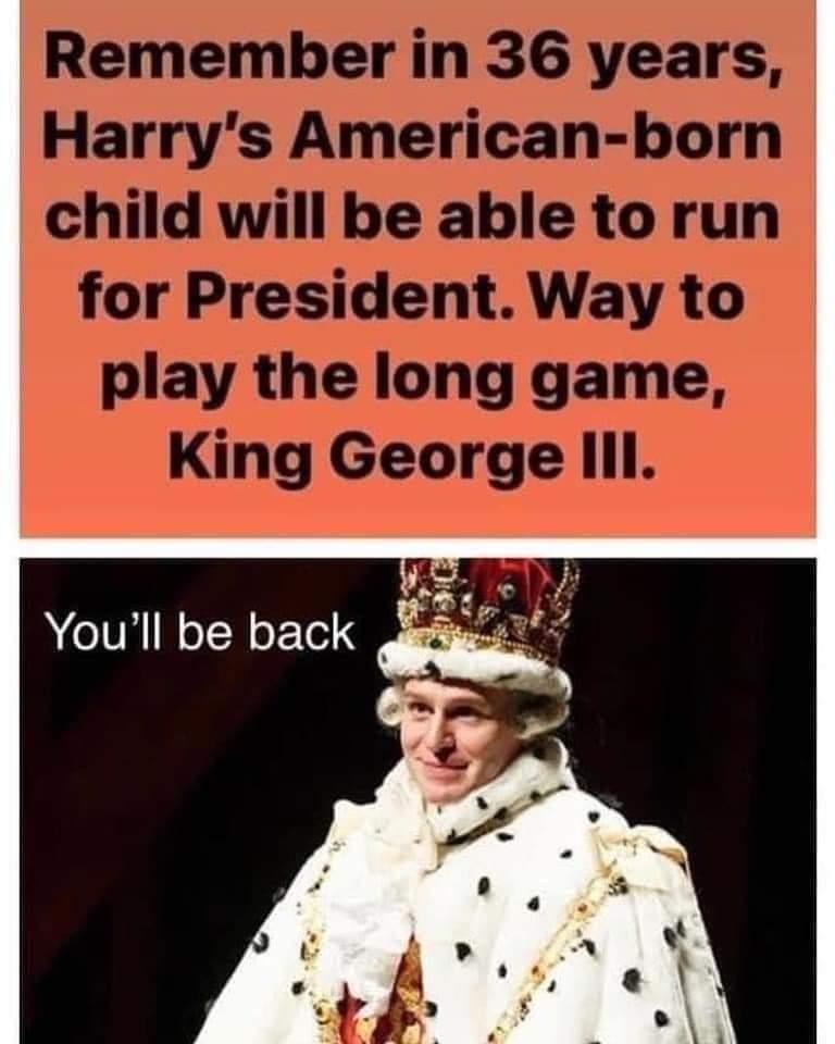 Memes King George III