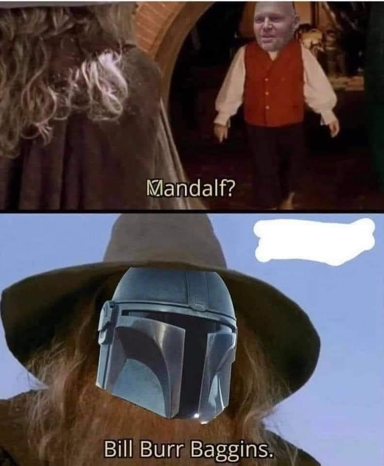 Memes The Mandalorian lord of the rings