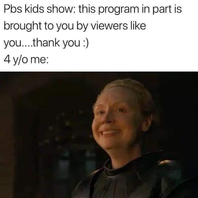 Memes PBS kid shows