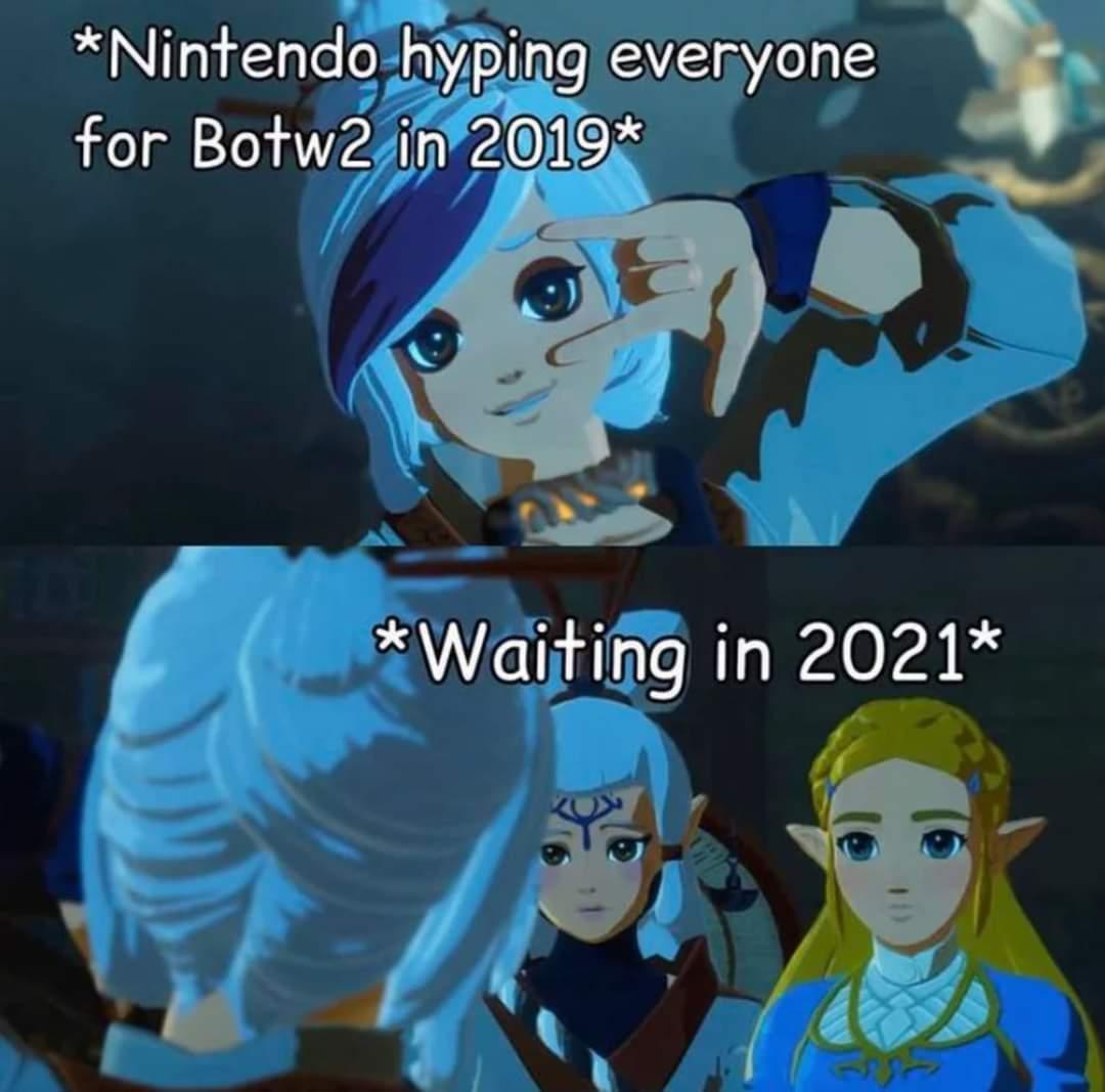 Memes The legend of Zelda breath of the wild 2