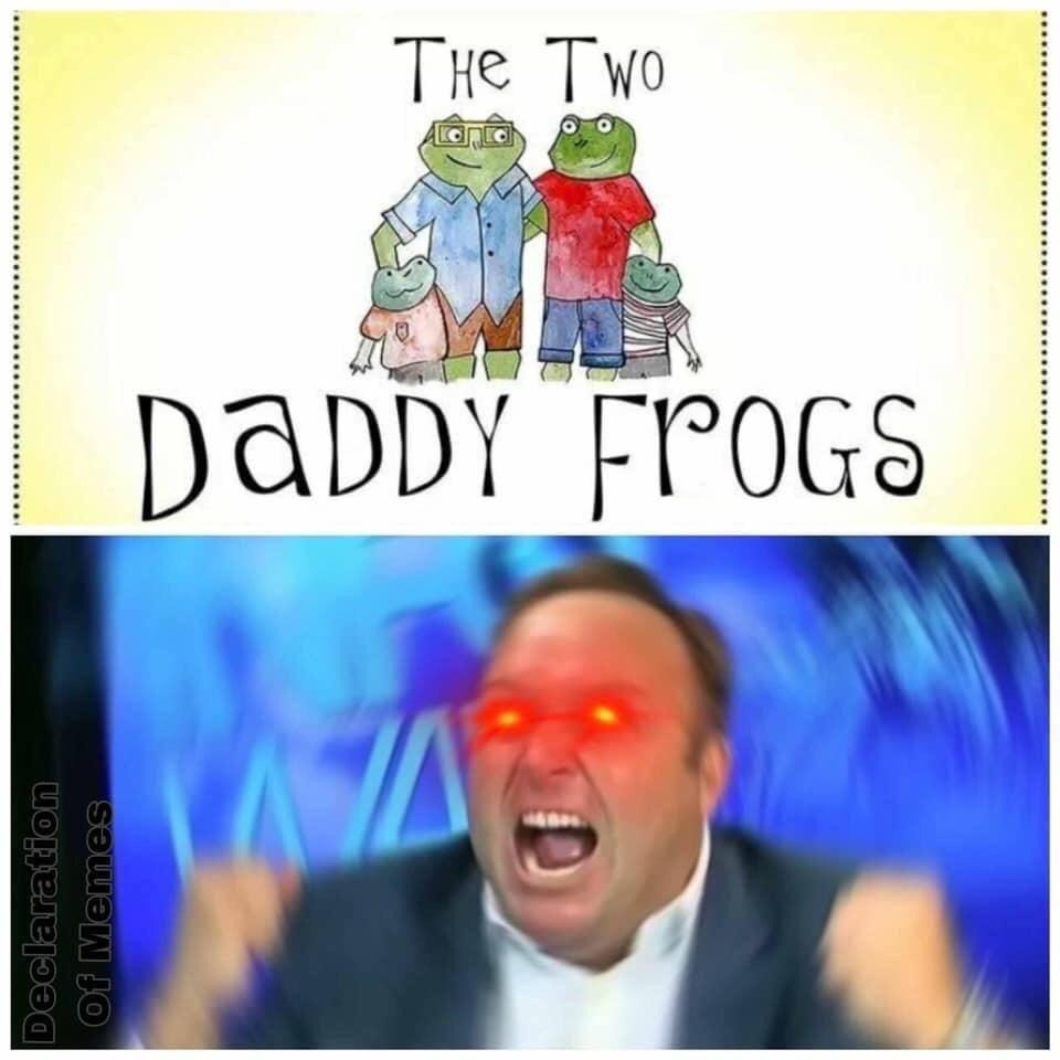 Memes Alex Jones gay frogs funny